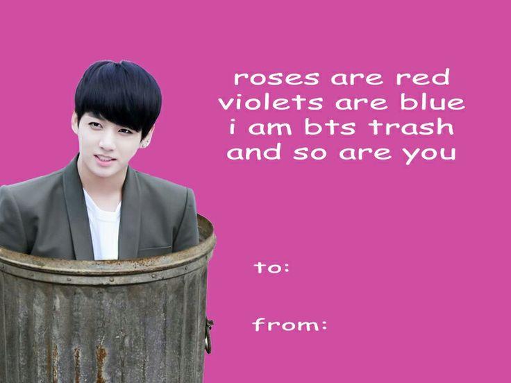 Bts Valentines Cards Bts T Bts K Pop And Bts Memes