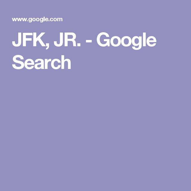 JFK, JR. - Google Search