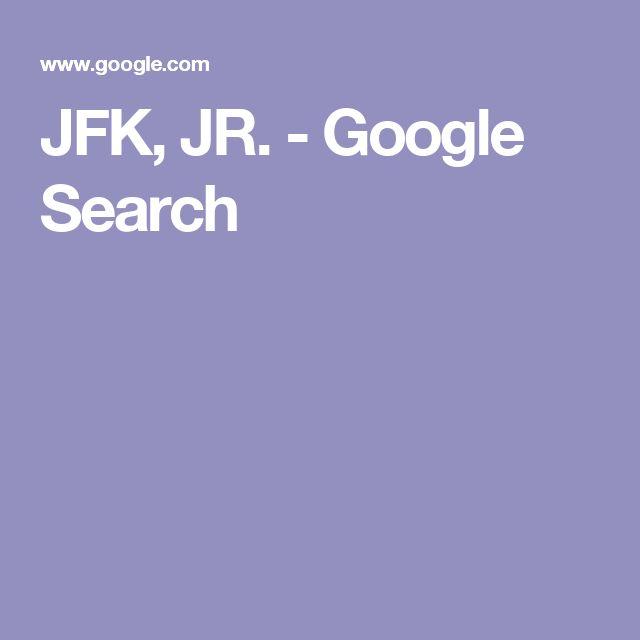 JFK, JR. - Google Search