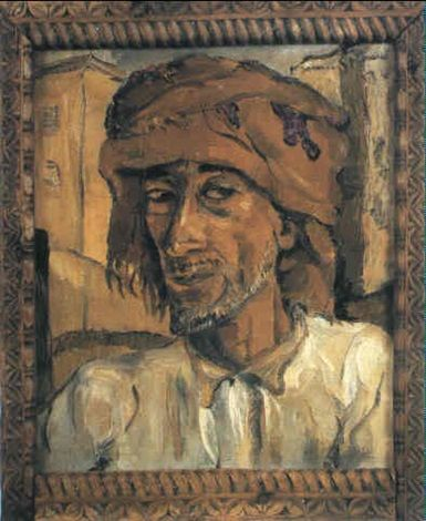 Head of an Arab, Zanzibar by Irma Stern