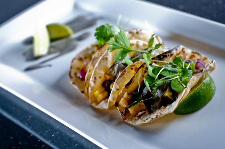 VEGETABLE TACOS corn | cactus | squash | salsa verde | huitlacoche ...