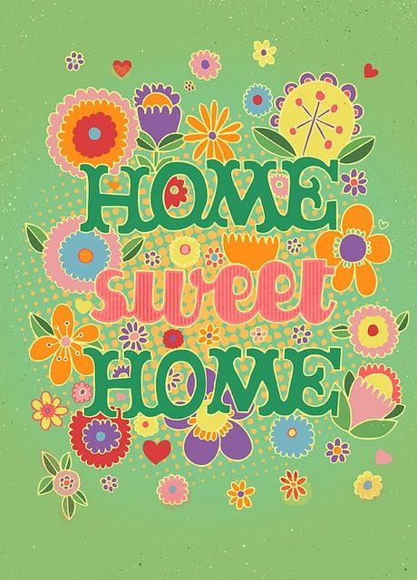 No place like Home.....  En casa.....