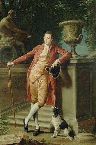 Portrait of John Talbot, later 1st Earl Talbot, Pompeo Batoni, 1773