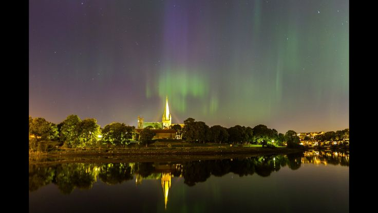 Aurora Borealis, Trondheim 07/10 2015