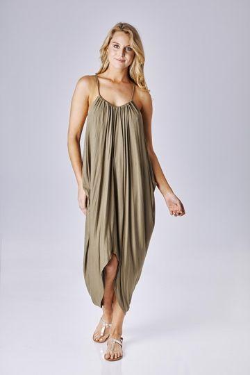 Buy Eb and Ive kaftans online Huntington Dress - Womens Calf Length Dresses at Birdsnest Fashion