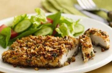 Panados de Frango no Forno - Dieta Mais