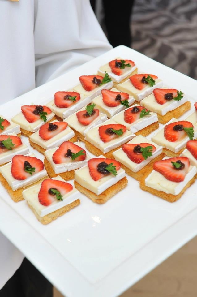 Brie and Strawberries