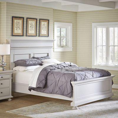 Dobson Panel Bed Color: Fog, Size: King - http://delanico.com/beds/dobson-panel-bed-color-fog-size-king-592897094/