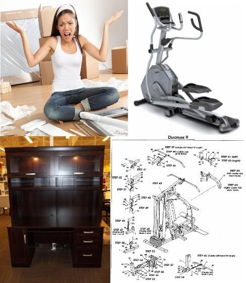 My Assembly Guy Furniture & Fitness Assembly, computer desk, chair, file, elliptical, bike, treadmill in Pinellas County, Seminnole, St Petersburg, Clearwater, Largo, Beach, Tampa Florida — You buy it, we assemble it! Taking Care of all your Furniture & Fitness assembly needs in Pinellas County and Tampa