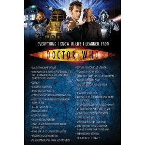 (24x36) Doctor Who (Everything I Know in Life) TV Poster Print (Kitchen) http://www.amazon.com/dp/B002OCPFD4/?tag=wwwmoynulinfo-20 B002OCPFD4