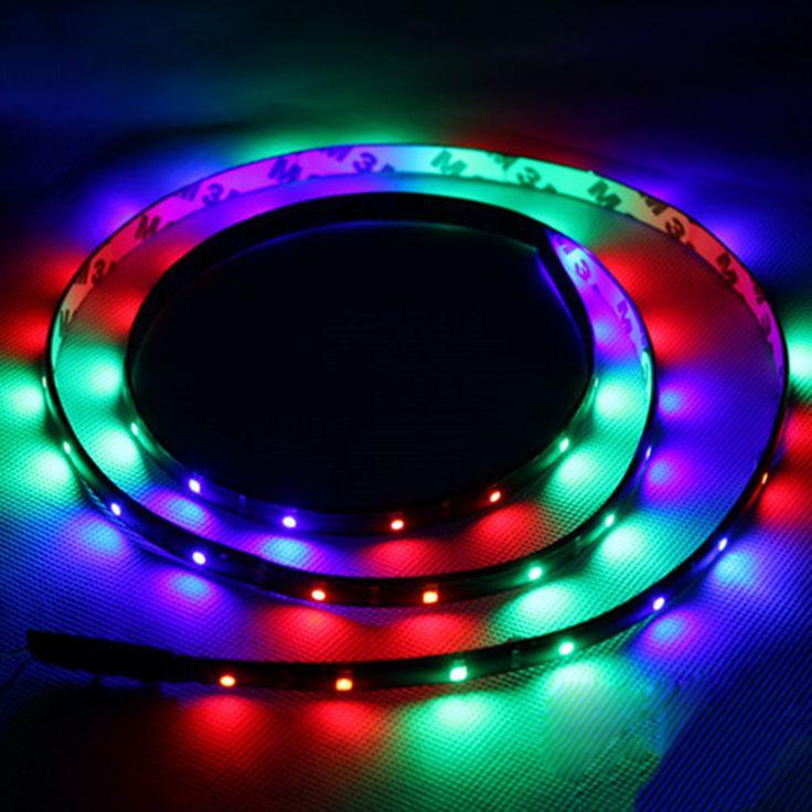 Водонепроницаемый Тележки Автомобиля Knight Rider LED Strobe Сканер Вспышка Света Прокладки
