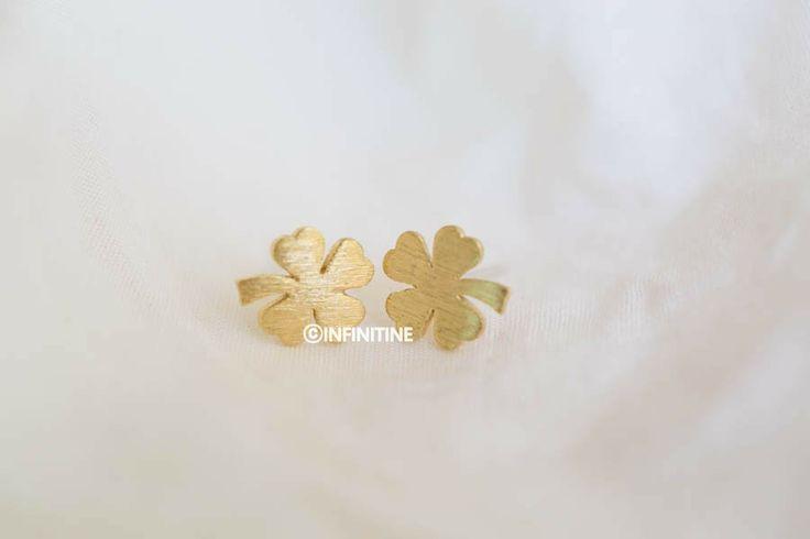 clover earrings,E066R