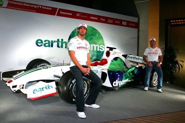 Rubens Barrichello Photos: Honda F1 2008 Press Conference