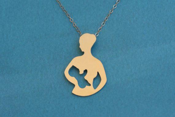 Collar de lactancia materna lactancia materna joyas madre y | Etsy
