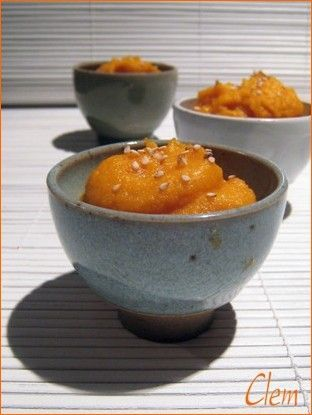 tartinade aux carottes et miso blanc