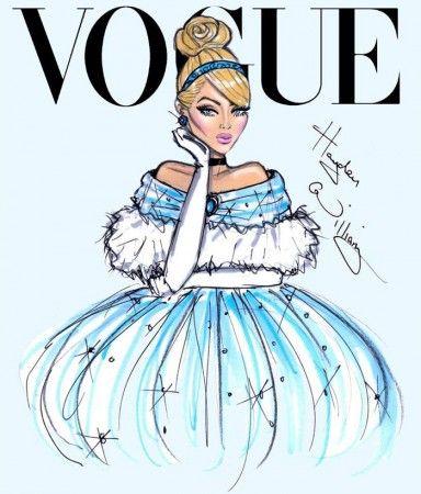 Vogue | english fashion illustrator, Hayden Williams