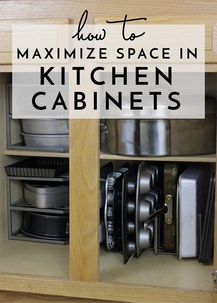 New Kitchen Organization Cabinet Ideas In 2020 Diy Kitchen Storage Kitchen Cabinets Kitchen Cabinet Organization