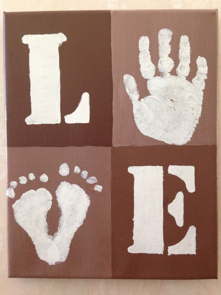 Handprint footprint craft