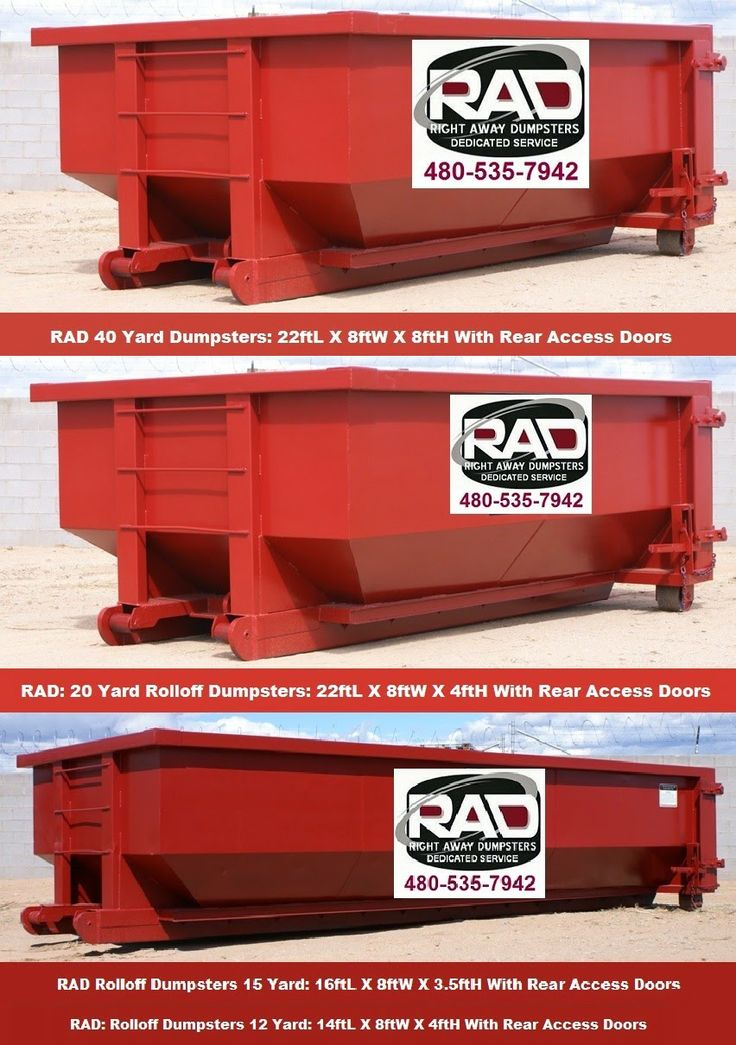 Arizona Trash Disposal Services RollOff Dumpsters