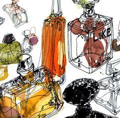 Daniel Egneus: Artworks Inspiration, Daniel Egnéus, Fashion Illustration, Fashion Blog, Watercolors Illustration, Daniel Egneus, Danielegneus, Bottle, Water Colors