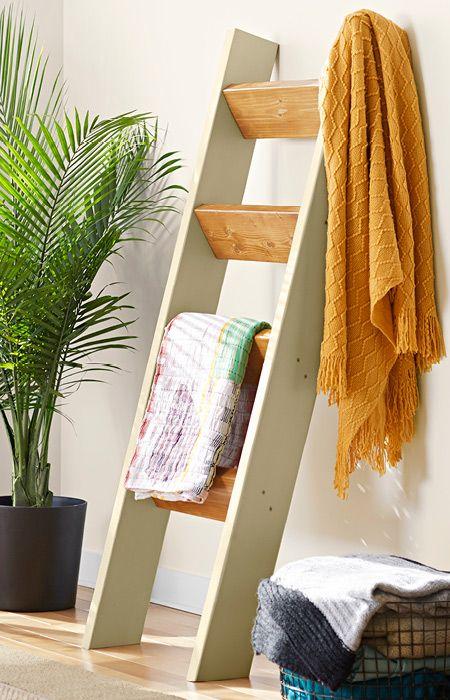 Living Room Blanket Holder Navy Best 25+ Quilt Ladder Ideas On Pinterest | ...