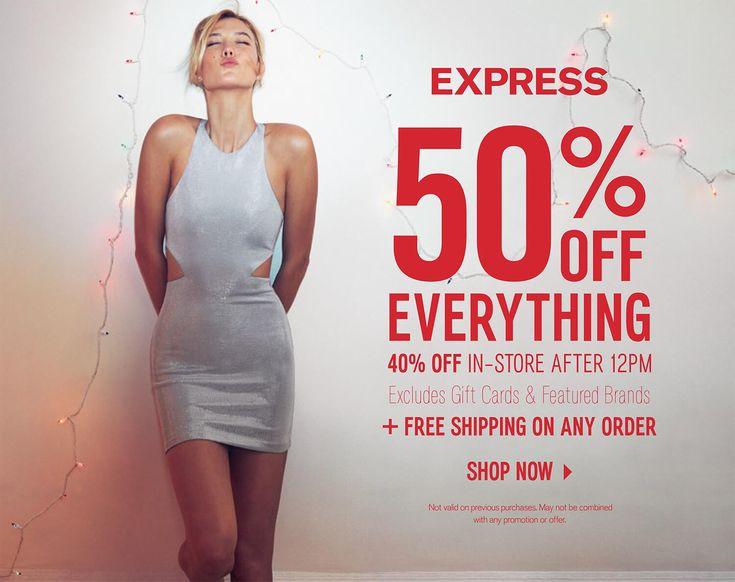 Express Black Friday 2016 Ad - http://www.olcatalog.com/blackfriday/express-black-friday.html