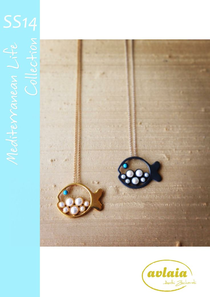 AVLAIA Jewelry summer designs from the Mediterranean Life Collection