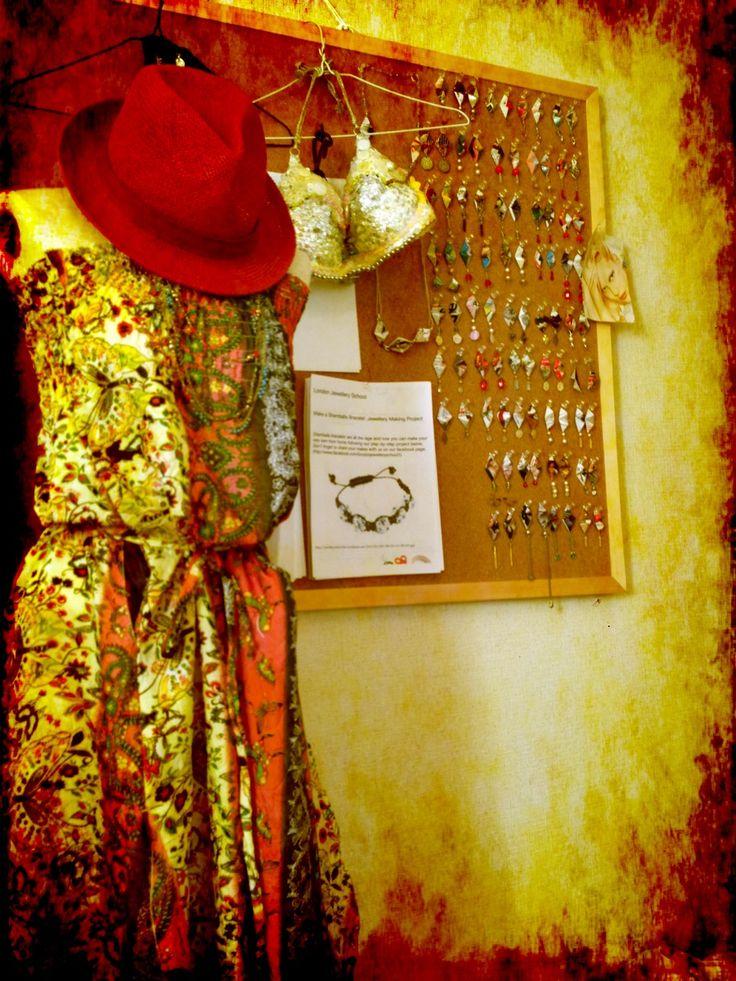 My hand made accessories and costume . I displayed them in my room.  ハンドメイドのアクセサリーや衣装をお部屋にディスプレイ。