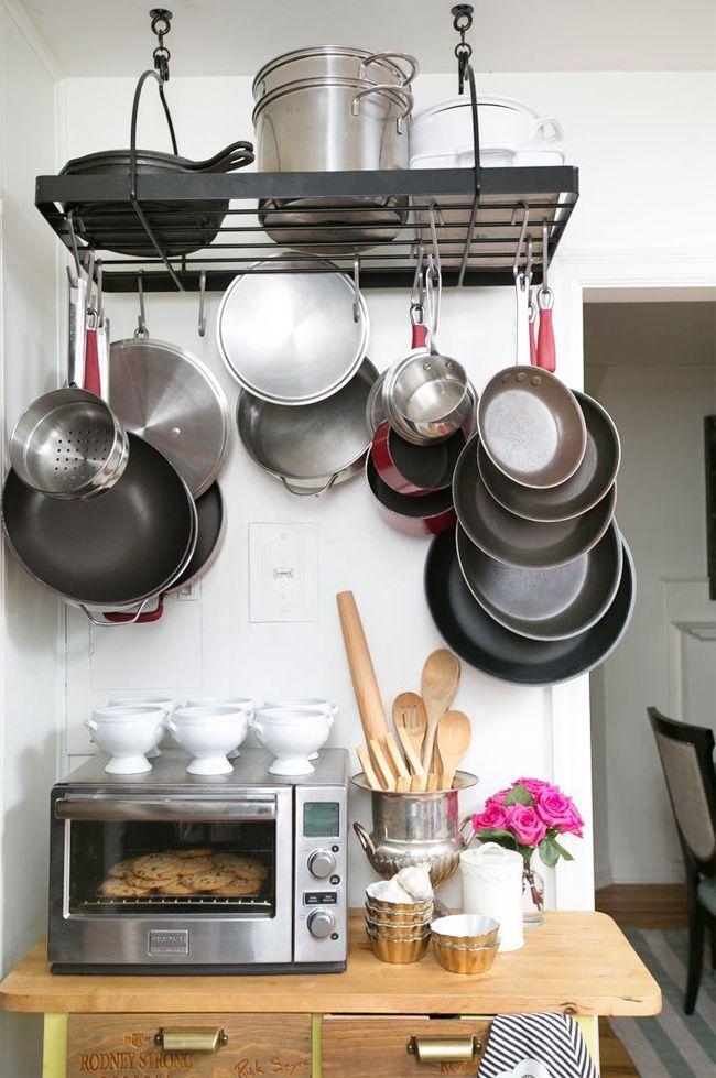 1000+ images about kitchen - pots & pans organization on pinterest