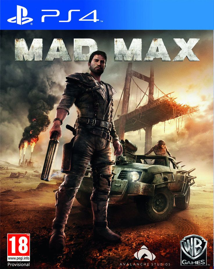 (*** http://BubbleCraze.org - You'll never put this Android/iPhone game down! ***)  Boxart van Mad Max (PS4), Avalanche Studios