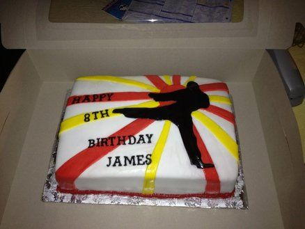 karate+cake | Karate Cake - by beth78148 @ CakesDecor.com - cake decorating website