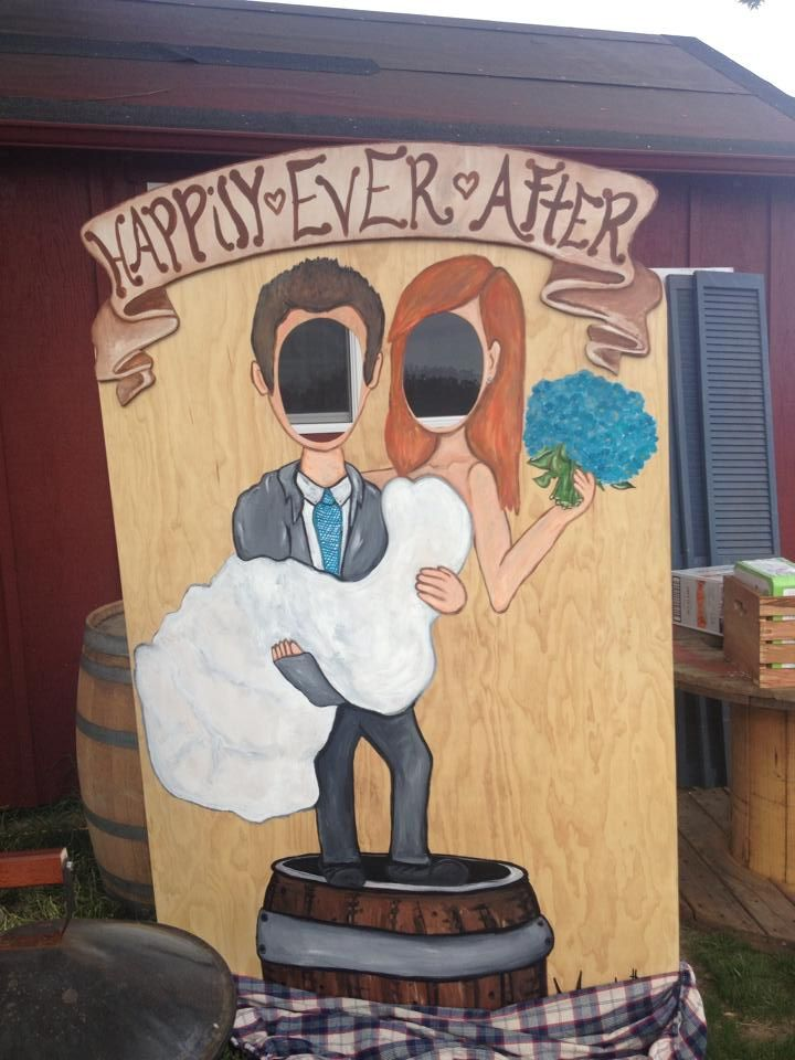 Country wedding Carnival cutout. Made by Tera Torchio www.teratorchio.com