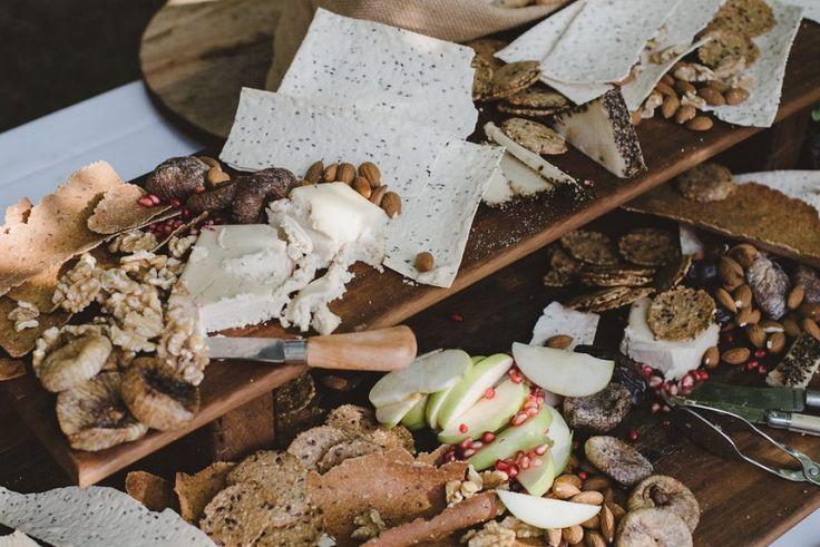 rustic vegan antipasto platters