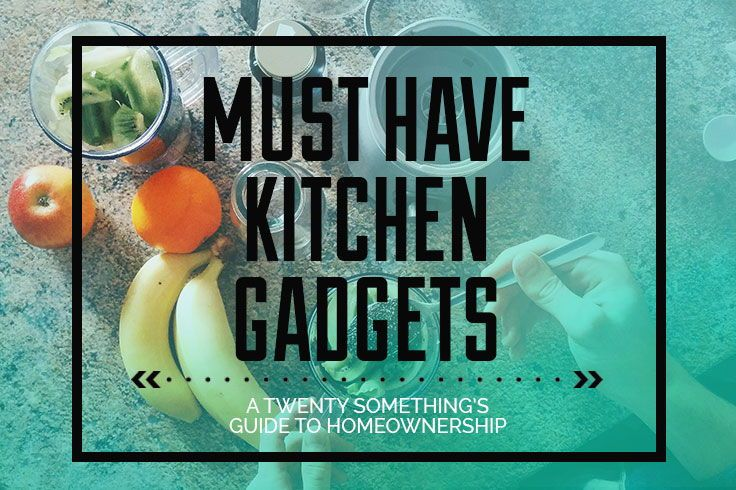 A Twenty Somethings Guide to the very best in kitchen gadgets! All the specialty tools to gift idea's for new homeowners. I can bet too, that you will end up seeing something awesome that you didn't even know you needed! Enjoy!