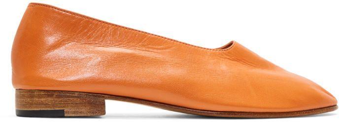 Martiniano Orange Glove Slippers