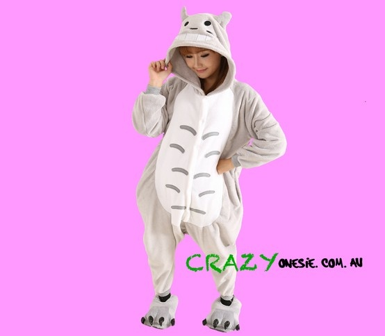 Grey Cat Onesie. 25% off EVERYTHING in store. Free Express Delivery Australia-wide. Visit www.crazyonesie.com.au for more details. Visit our Facebook page https://www.facebook.com/crazyonesie for exclusive competitions and discounts