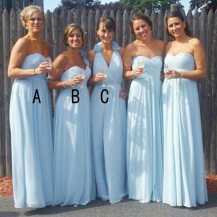 mismatched bridesmaid dresses beach wedding
