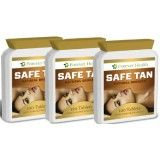 SAFE TAN Tanning Tablets - 3 x 120 = 260