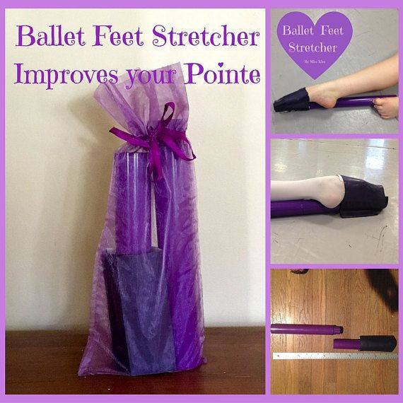 TWO Ballet Feet Stretchers and One Resistance Stretch Band by BalletFeetStretcher