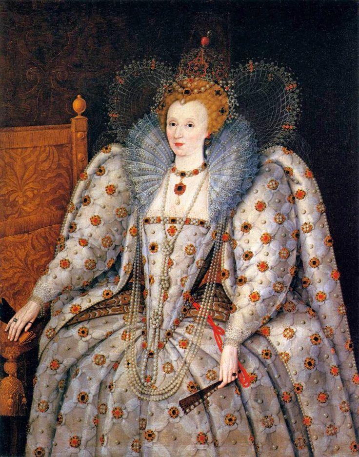 Marcus+Gheeraerts+the+younger+(Flemish+artist,+1561-1635)+Queen+Elizabeth+I.jpg (942×1200)