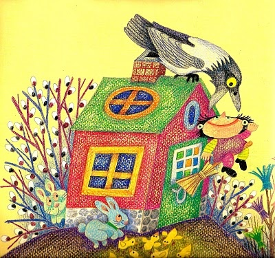 Camilla Mickwitz children's book illustration