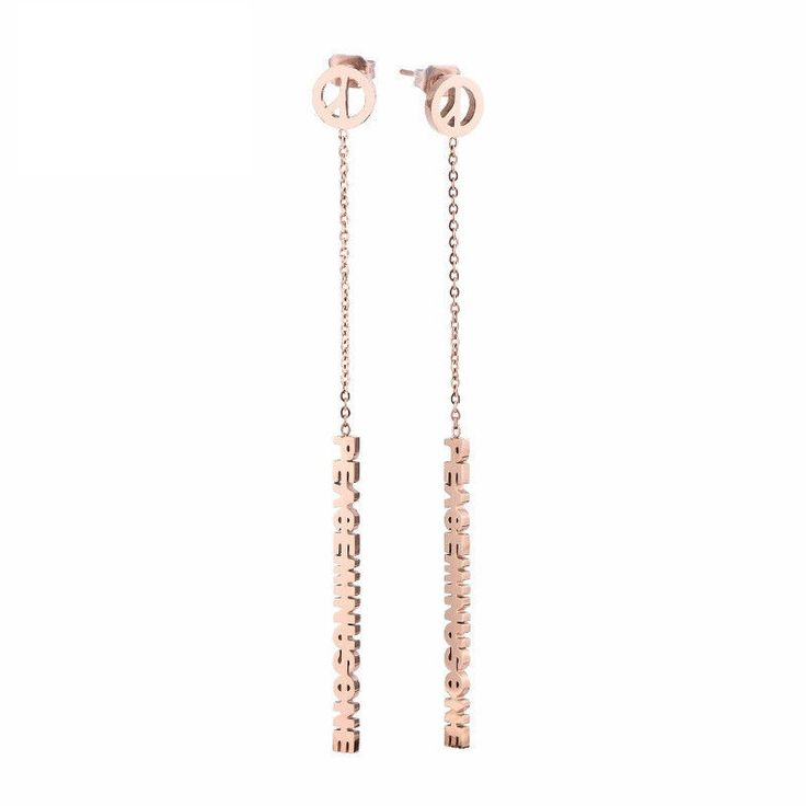 Kpop Bigbang G Dragon Gd Long Ear Chain Drops Dangle Earrings Pendant Elegant
