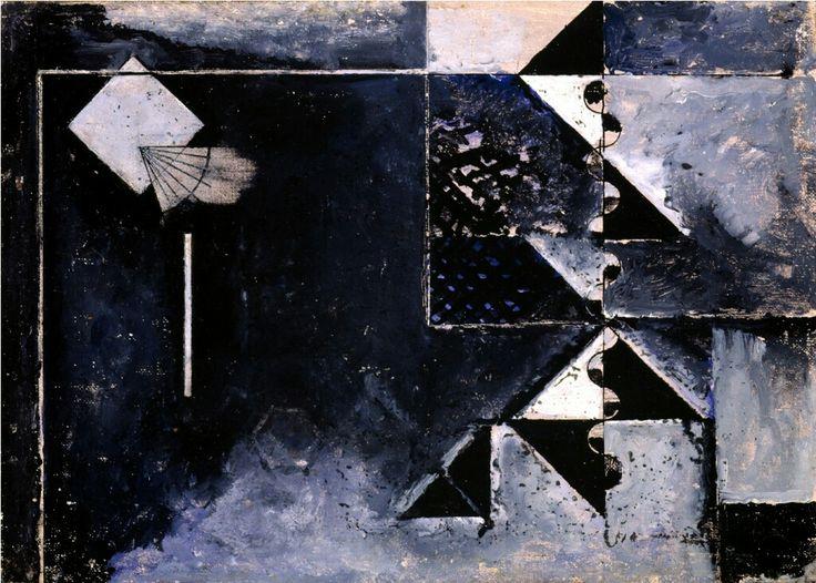 Osvaldo Licini notturno 1932-1933. Collezione Giovanardi