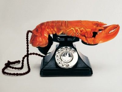 Salvador Dalí: Hummer - oder aphrodisisches Telefon, 1936; © Museum für Kommunikation Frankfurt, Foto: © Salvador Dali, Fundació Gala-Salvador Dali / VG Bild-Kunst, Bonn    18 de diciembre de 2011