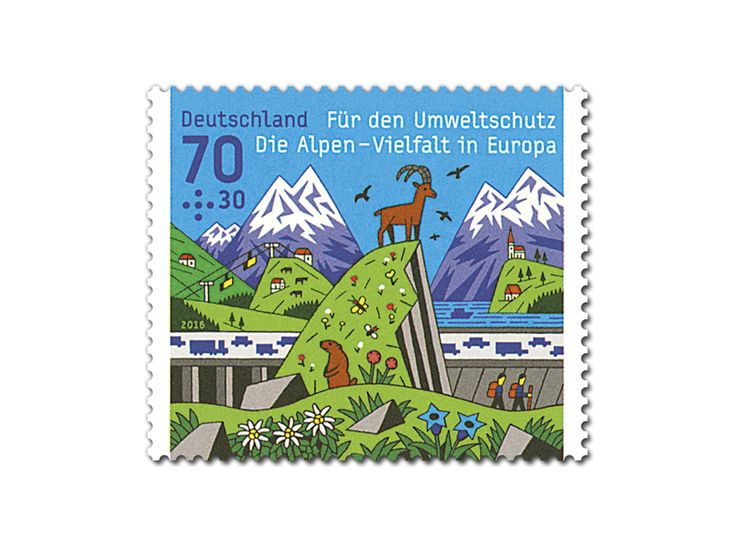 COLLECTORZPEDIA For the Environment - The Alps - Diversity in Europe