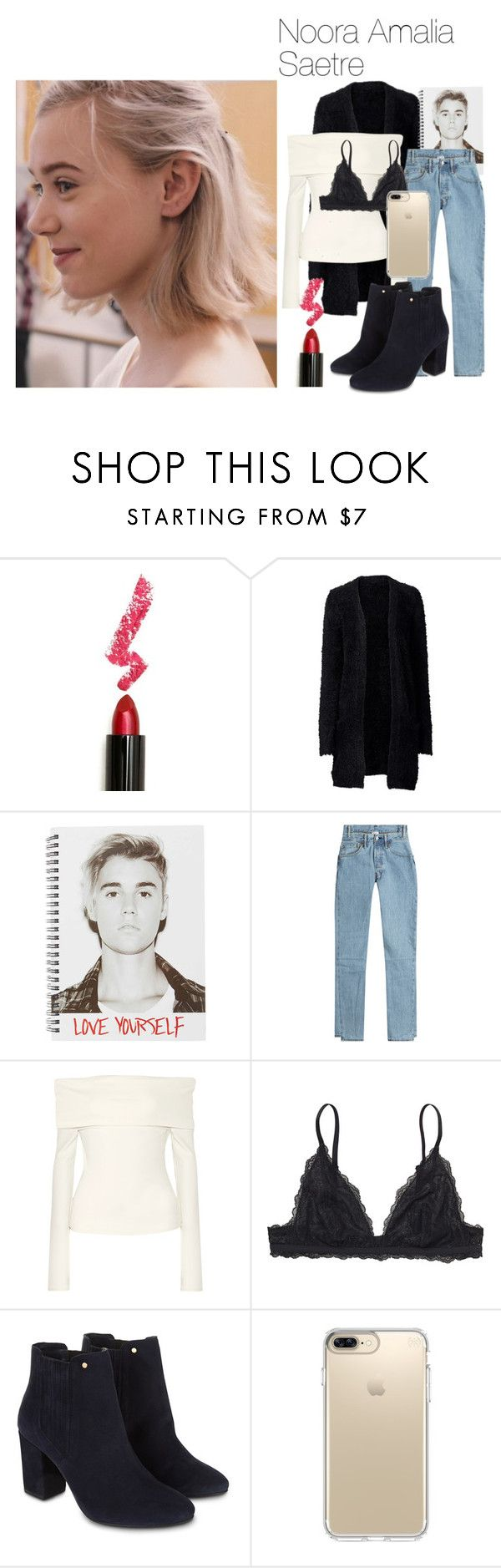 """""""Noora Amalia Saetre Skam"""" by valeria-papina on Polyvore featuring мода, Lime Crime, Justin Bieber, Vetements, The Row, Monki, Monsoon и Speck"""