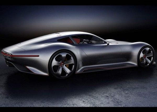 2013 Mercedes Benz Vision Gran Turismo Rear Side 600x429 2013 Mercedes Benz Vision Gran Turismo Full Reviews with Images