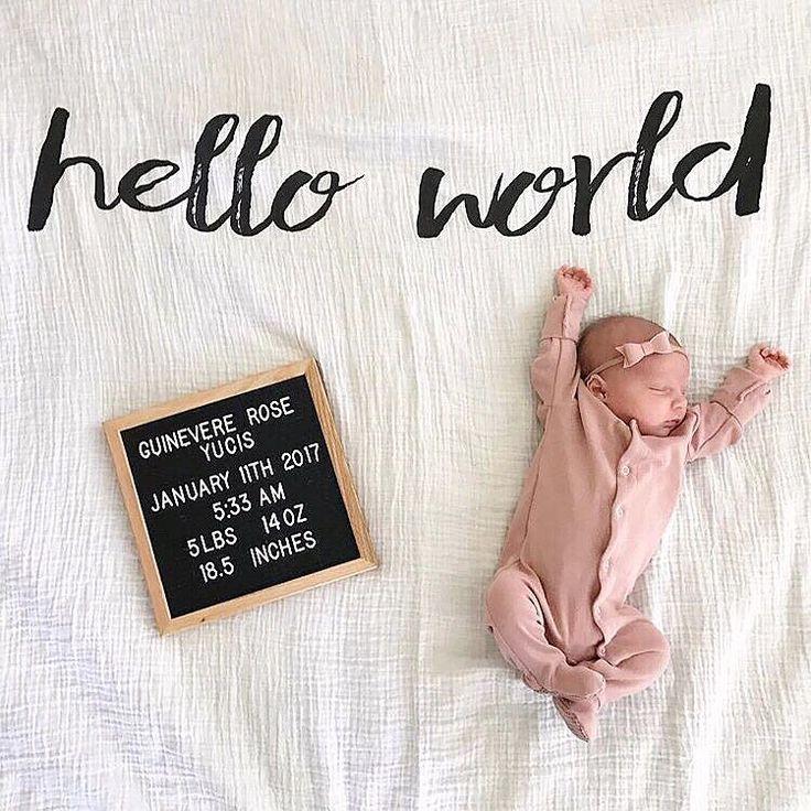 Hello World  @danipennsylvania  NEW Hello World Muslin at spearmintLOVE.com