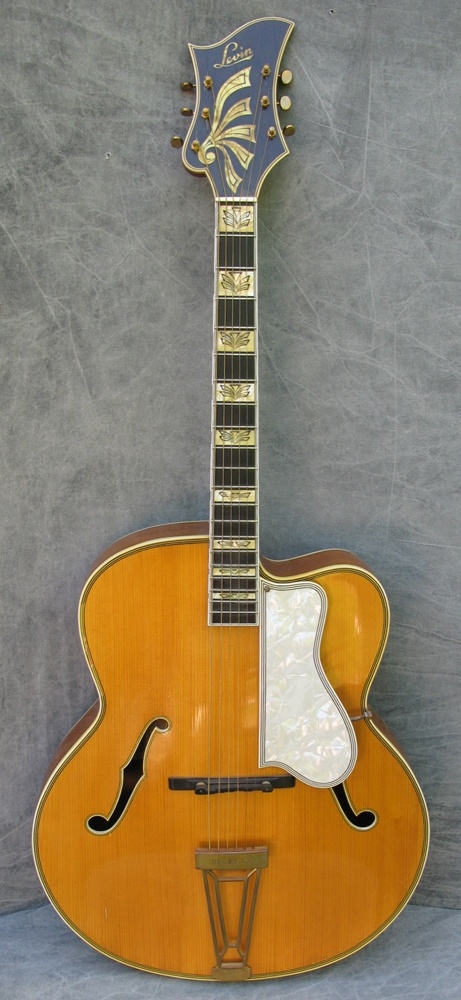 1950 Levin Deluxe Guitar Crave Sunshine And Irony