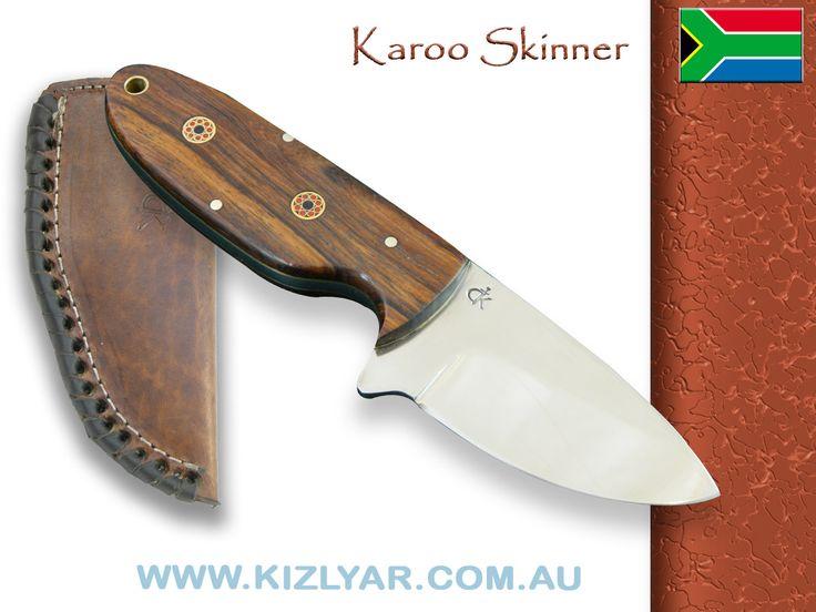Kappetijn Karoo Skinner D2 steel (Rosewood)